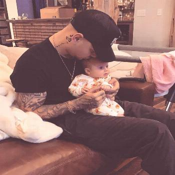 Country music star Kane Brown's baby girl, Kingsley Rose Brown, is only two months old--- but she's