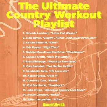 The Ultimate Country Workout Playlist